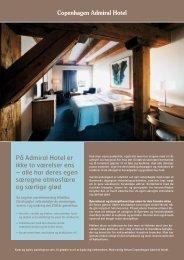 På Admiral Hotel er ikke to værelser ens – alle har deres egen ...