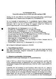 Referat af den ordinære generalforsamling 2004, afholdt den 29 ...