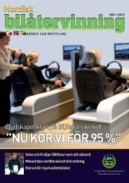 """NU KÖR VI FÖR 95 %"""" Nordisk - SBR"""