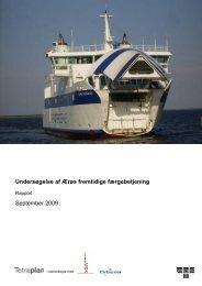 Undersøgelse af Ærøs fremtidige færgebetjening - Social