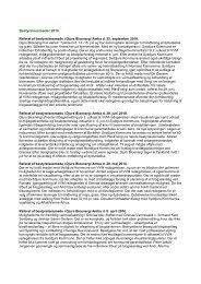 Bestyrelsesmøder 2010 - Djurs Bioenergi