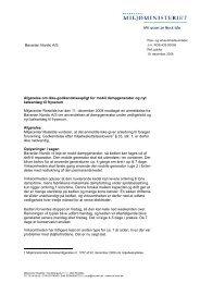 Bavarian Nordic A/S Afgørelse om ikke-godkendelsespligt for mobil ...