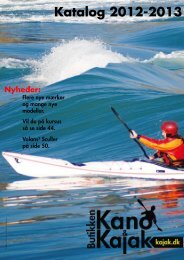 Katalog 2012-2013 - Kano & Kajak Butikken