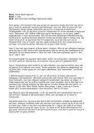 Læs mere her.... - Dansk Taekwondo Forbund
