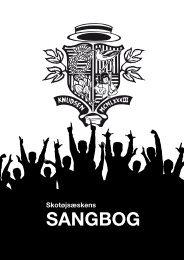 SANGBOG - Velkommen