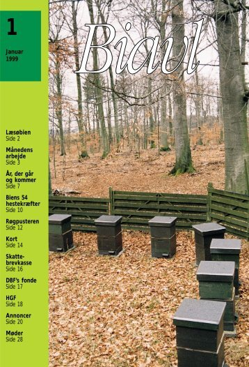 Tidsskrift for Biavl 1999