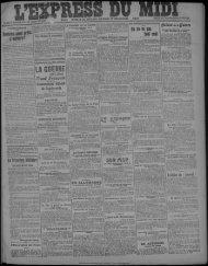 14 janvier 1918 - Bibliothèque de Toulouse
