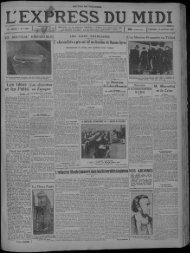 13 janvier 1933 - Bibliothèque de Toulouse