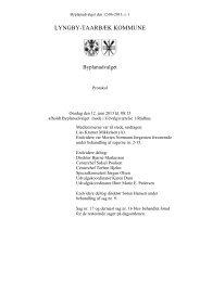 Byplanudvalget 12-06-2013 - Referat og bilag - Lyngby Taarbæk ...