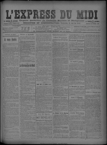 13 janvier 1895 - Bibliothèque de Toulouse