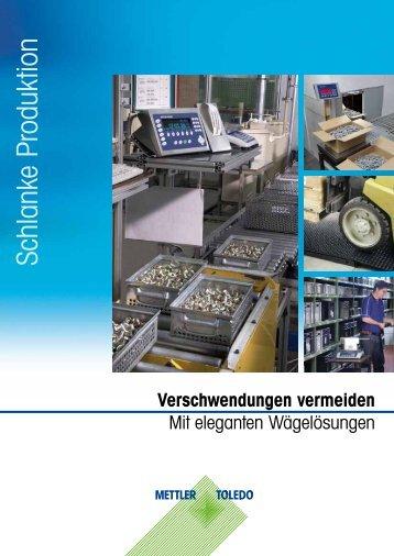 Schlanke Produktion - METTLER TOLEDO