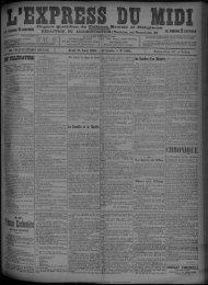 13 août 1896 - Bibliothèque de Toulouse