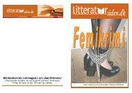 Bibliotekernes netmagasin om skønlitteratur - Litteratursiden