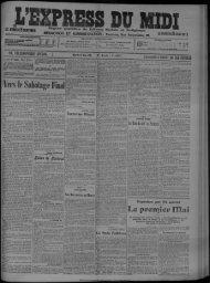 Mardi 2 Mai 1911. - Bibliothèque de Toulouse