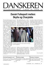 DANSKEREN nr 3 - 2011 - Den Danske Forening