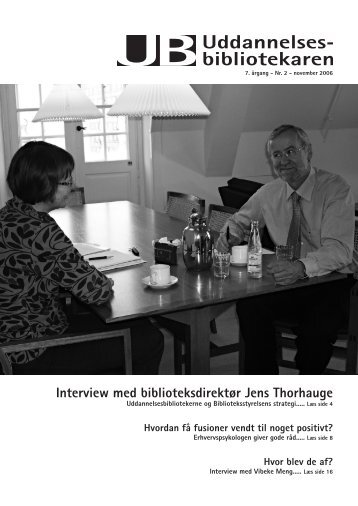 Interview med biblioteksdirektør Jens Thorhauge