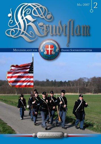Krudtslam Nr. 2-2007 - Forbundet Af Danske Sortkrudtskytteforeninger