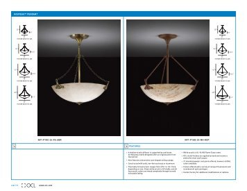 nouveau™ pendant - OCL Architectural Lighting