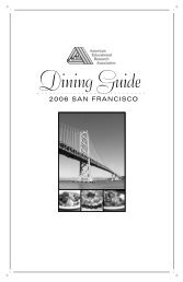 San Francisco Dining Guide