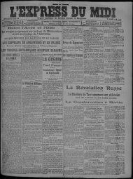 18 MARS 1917 - Bibliothèque de Toulouse