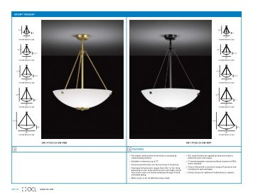 orion™ pendant - OCL Architectural Lighting