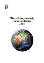 Hent Efterretningsmæssig Risikovurdering 2005 - Forsvarets ...
