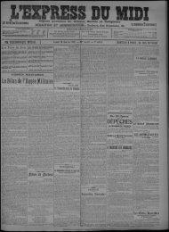 22 janvier 1912 - Bibliothèque de Toulouse