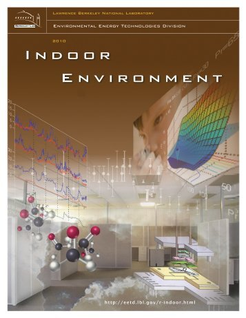 Indoor Environment, Environmental Energy Technologies Division ...