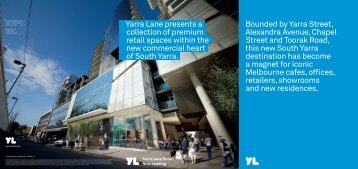 Bounded by Yarra Street, Alexandra Avenue, Chapel Street and ...