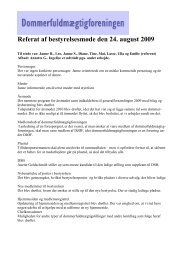 Referat af bestyrelsesmøde den 24. august 2009
