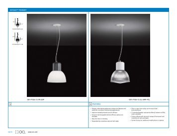 odyssey™ pendant - OCL Architectural Lighting