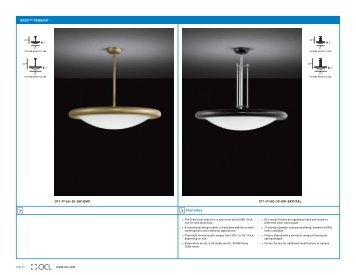 orbit™ pendant - OCL Architectural Lighting