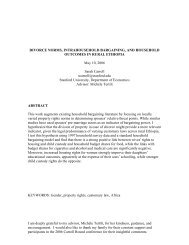 divorce norms, intrahousehold bargaining, and household