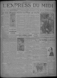 25 octobre 1929 - Bibliothèque de Toulouse