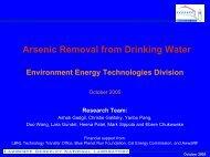 download presentation - Environmental Energy Technologies Division