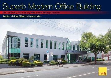 Superb Modern Office Building1