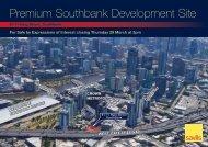 Premium Southbank Development Site