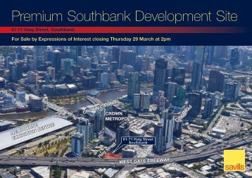 Premium Southbank Development Site