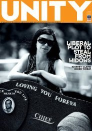 Unity Issue 52, March 2011 - cfmeu