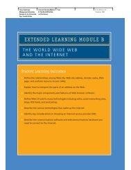 EXTENDED LEARNING MODULE B - McGraw-Hill Learning Solutions
