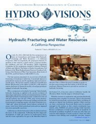 Hydraulic Fracturing and Water Resources - Groundwater ...