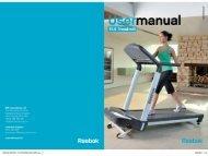 pg; _ manual - Reebok Fitness Equipment