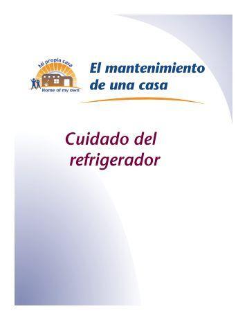 Cuidado del refrigerador - Home of My Own