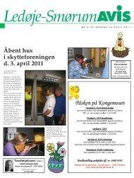Åbent hus i skytteforeningen d. 3. april 2011