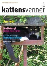 Ann Wåt Katteasyl - Kattens Værn