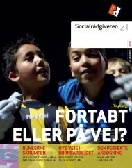 Socialrådgiveren nr. 21-2009 - Dansk Socialrådgiverforening