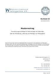 Merkblatt 03 - Bundesverband Wintergarten eV