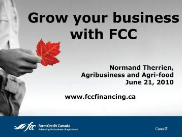 Grow your business with FCC - Acamp