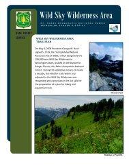 Wild Sky Wilderness Area - USDA Forest Service