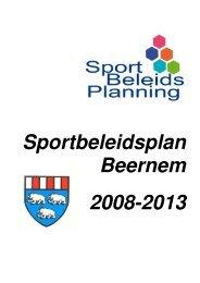 Ga naar het sportbeleidsplan